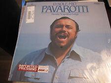 Pavarotti; O Sole Mio Favorite Neopolitan Songs   on LP