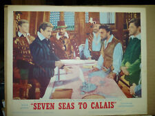 SEVEN SEAS TO CALAIS, orig 1962 LC #5 [Rod Taylor as Sir Francis Drake]