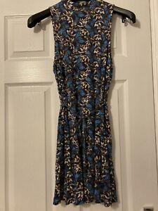 Topshop Vintage Floral Dress Size 10