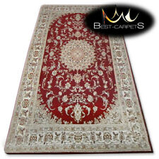 NATURAL WOOL AGNELLA RUGS ruby oriental thick and durable carpet