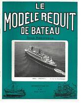 """MODELE REDUIT DE BATEAU N°179 PLAN : REMORQUEUR MARCHAND """"PACIFIC"""""""