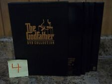 THE GODFATHER 5 DVD COLLECTION BOX SET PART II III + BONUS MATERIALS VIDEO DRAMA