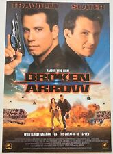 BROKEN ARROW / ORIGINAL VIDEO FILM POSTER / JOHN TRAVOLTA  JOHN WOO / VINTAGE 1
