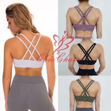 FITINCLINE Women's Vitality Sports Bra Top Gym Yoga Activewear Training Fitness