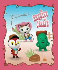 """Disney Sheriff Callie Panel 100% cotton fabric by the panel 35"""" x 43"""""""