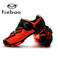 Tiebao MTB Mountain Cycling Bicycle Shoes for Shimano SPD System Bike Sneakers