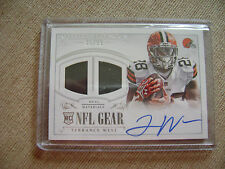 Terrance West 2014 National Treasures Dual Gear Auto Jersey Rc 35/99 Browns Nice