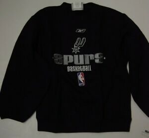 Kids Youth Boys Reebok San Antonio Spurs NBA Basketball Pullover Sweatshirt