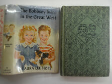 The Bobbsey Twins #13, in the Great West, Laura Lee Hope, DJ, 1950s Edition