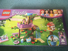 LEGO FRIENDS 3065 OLIVIA'S TREEHOUSE BUILT ONCE