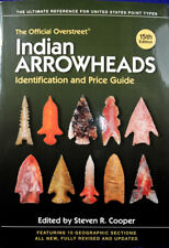 15th Edition Overstreet Price & Id Guide for Authentic Prehistoric Arrowheads