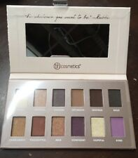 BH Cosmetics Be..By BubzBeauty Lindy Tsang youtuber Eyeshadow Palette Tester New