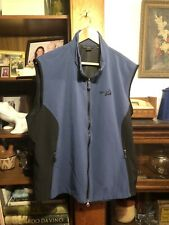 Golf Wind Sailing NORTH END Womens 3XL Blue Black Vest Cape Cod Embroidered