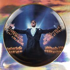 Freddie Mercury (Queen) 'Who Wants To Live Forever' Danbury Plate + COA - Rare