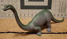 Retro Gray Diplodocus Dinosaur Plastic 15in Toy Sauropod