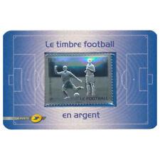 Blister 430 - Le timbre Football en argent - 2010