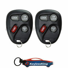 2 Replacement for Chevrolet Blazer - 1998 1999 2000 2001 4b Remote