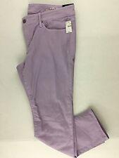 Gap Purple Skinny Jeans NWT 31/12 31 Lavender Colored Denim Pants Stretch