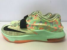 Mens Nike Zoom KD VII 7 Easter Liquid Lime 653996 304