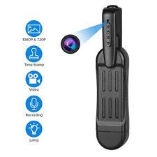 1080P HD Mini Spy Hidden Pocket Pen Camera Portable Body Video Recorder DVR Cam