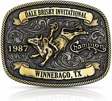 Dale Brisby Invitational 1987 Trophy Buckle