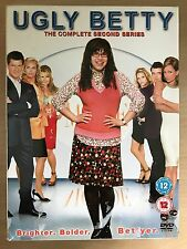 America Ferrara UGLY BETTY: SEASON 2 ~ Fashion Industry Comedy Series UK DVD