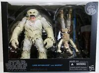 Star Wars The Black Series Luke Skywalker and Wampa 6 inch Figures Hasbro F/S