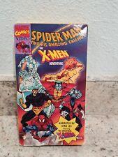 Spiderman Amazing Friends VHS Cartoon First X-Men Appearance