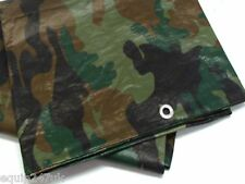 Camo camouflage bâche bâche 4,5 m x 6,0 m imperméable