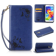 Flip Magnetic Leather WALLET Case Cover for Samsung Galaxy S7 S6 S5 J3 J5 A5 E5