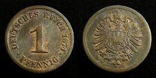 Germany / Empire - 1 Pfennig 1874 G