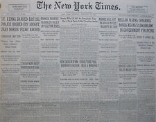 2-1931 FEBRUARY 14 CRISIS IN SPAIN PASSFIELD PALESTINE ISSUES CARROLL SHOW RAID