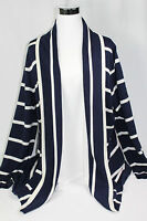 Liz Claiborne Striped Cardigan Sweater pick size color new
