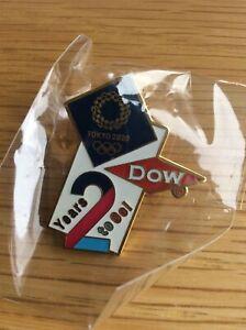 DOW Tokyo 2020 olympic pin