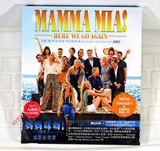 O.S.T. Mamma Mia! Here We Go Again Taiwan CD w/BOX 2018 ABBA Cher NEW