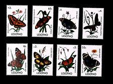 Lesotho  1990 fauna butterflies   SCOTT No.765-772  ,I202006