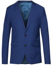Burton Indigo Blue Tailored Fit Suit Jacket 42l Td180 QQ 08