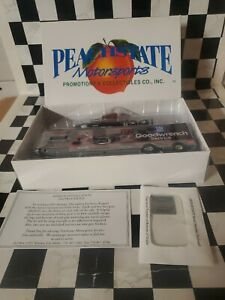 NASCAR DALE EARNHARDT 1996 #3 Goodwrench Racing 1/64 Peachstate Transporter Haul