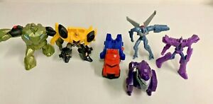 Lot of 6 TRANSFORMERS McDonalds HAPPY MEAL Toys
