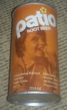 10 oz PATIO Draft Root Beer Montreal Canada Can  soda pop Vintage Pepsi-Cola OLD