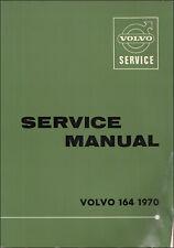 1970 Volvo 164 Shop Manual Händler Reparatur Service Buch OEM Original