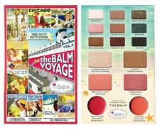The Balm Voyage 2 Travel Palette Blusher Lip Cheek Face & Eye Shadows GENUINE