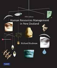Human Resources Management in New Zealand by Richard Rudman (Paperback, 2010)