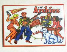 """THE ARCHIES side A Metal LUNCHBOX   2"""" x 3"""" Fridge MAGNET ART"""