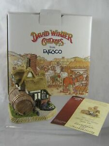 STALE ALE ENESCO DAVID WINTER COTTAGES 2001 MEMBER ONLY COTTAGE EXCELLENT BOXED