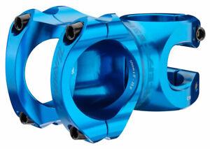 "RaceFace Turbine R 35 Stem - 32mm, 35mm Clamp, *+/-0, 1 1/8"", Blue"