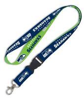 Seattle Seahawks Lanyard Schlüsselband,NFL Football Keyholder,55 cm,Neu