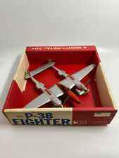 Hubley Mighty Metal P-38 Fighter #1881 Mib.