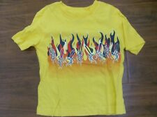 Sonoma Boys' Yellow Surfboard Shirt Flames Size 4