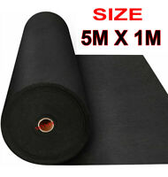 5 METERS x 1M WEED CONTROL FABRIC MEMBRANE GROUND COVER SHEET GARDEN LANDSCAPE